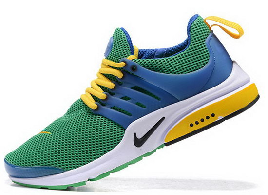 Mens & Womens (unisex) Nike Air Presto Green Blue Yellow 36-46 Australia